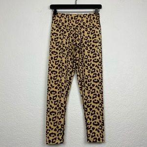 Ryderwear Cheetah Print Adapt Scrunch Bum Leggings